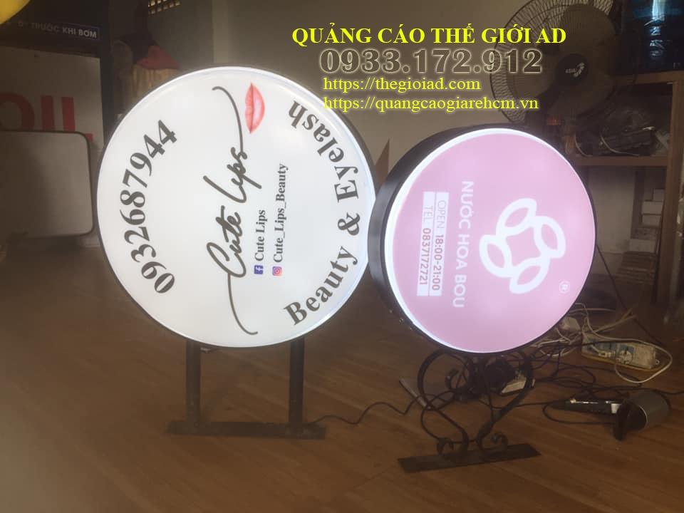 thiết kế hộp đèn quảng cáo